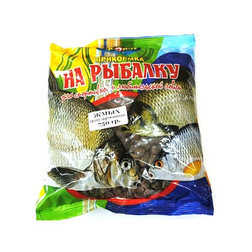 прикормка для рыбалки из жмыха