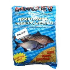 Прикормка DUNAEV фидер лещ, карп, плотва универсальная