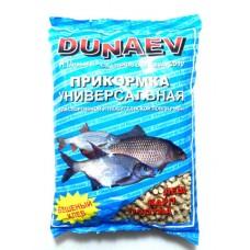 Прикормка DUNAEV Универсальная гранулы Ваниль, Фидер