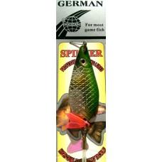 Блесна колеблющаяся крашенная GERMAN 5021-100