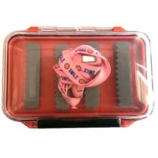 Коробочка для приманок оранжевая двусторонняя